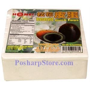 Picture of Homei Preserved Duck Eggs, 6 pcs