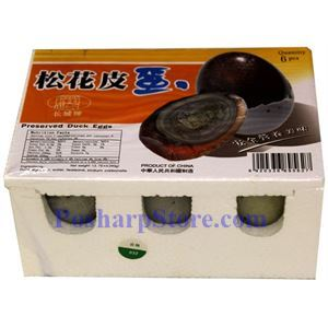 Picture of Great Wall Preserved Duck Eggs, 6 pcs