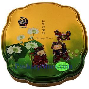 Picture of Tianje Pandan Lotus Paste and 1 Yolk Mooncakes