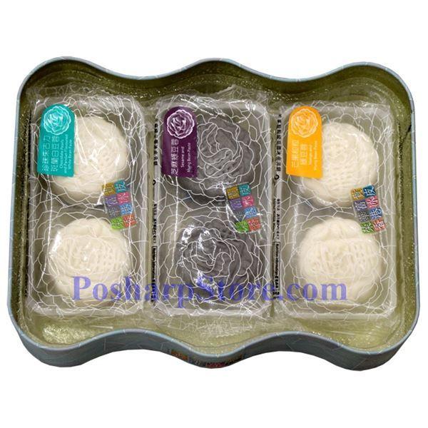 分类图片 香港荣华雪中情冰皮月饼