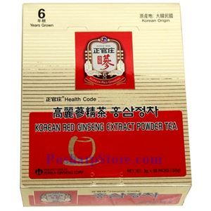 Picture of Health Code Korean Ginseng Extract Powder Tea 50 Teabags