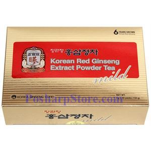 Picture of Health Code Korean Ginseng Extract Powder Tea (Mild) 50 Teabags