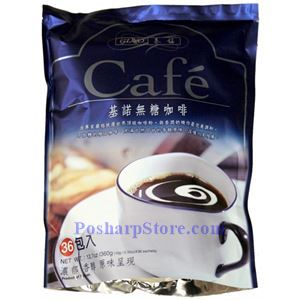 Picture of Gino Premium 2-In-1 Instant Coffee Mix Without Sugar 36 Sachets