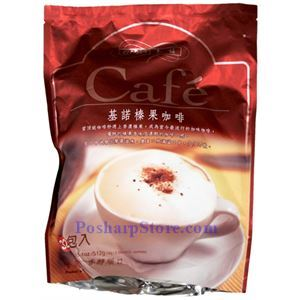 Picture of Gino Premium 3-In-1 Instant hazelnut Coffee Mix 16 Sachets