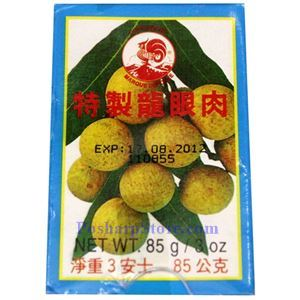 Picture of Cock Brand Premium Dried Longan Without Seeds 3 oz