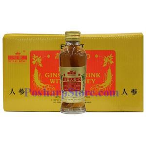 Picture of Royal King Korean Ginseng Drink with Honey and Ginseng Root 10 Bottles