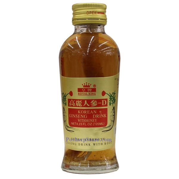 Picture for category Royal King Korean Ginseng Drink with Honey and Ginseng Root 10 Bottles