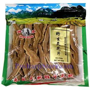Picture of Farmer Brand Dried Wild Ganoderma Mushroom 5 Oz