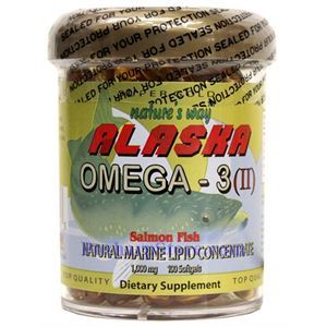 Picture of Nature's Way Alaska Salmon Fish Oil 100 Softgels