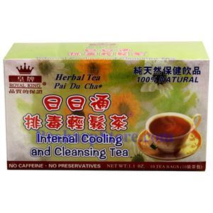 Picture of Royal King Internal Cooling and Cleansing Herbal Tea 10 Teabags