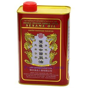 Picture of Double Dragon Chinese Style Pure Sesame Oil 56 Fl Oz