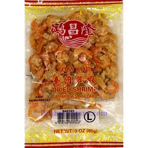 Picture of Hong Chang Long Thailand Dried Shrimp (L) 3 oz