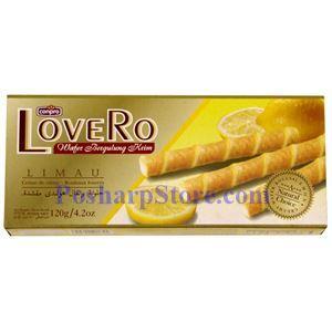 Picture of Conpro LoveRo Lemon Creamy Wafer Rolls 4.2Oz