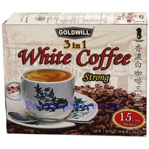 Picture of Goldwill 3-In-1 White Coffee (Strong) 21 oz