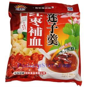 Picture of Huifengyuan Instant  Lotus Paste with Red Date 17.6 Oz