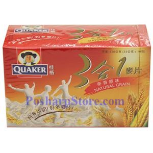 Picture of Quaker Instant 3-In-1 Natural Grains 11.5 oz