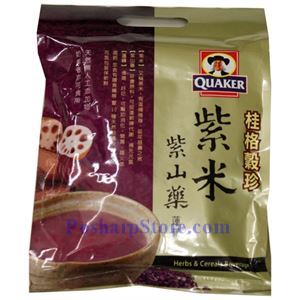 Picture of Quaker Instant Purple Rice Cereals with Yam 12 oz