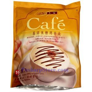 Picture of Gino Premium Instant Coffee Mix with Caramel Fla 24 Sachets