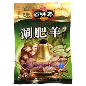 图片 四川百味斋刷肥羊鸡汁味浓缩底料200克
