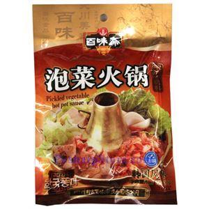 图片 四川百味斋泡菜火锅浓缩底料200克