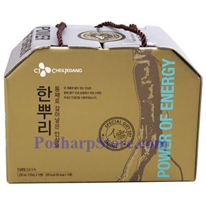 Picture of CheilJedang Korean  Ginseng Drink 10 Bottles