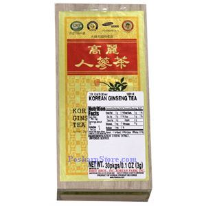 Picture of Korean Ginseng Tea 30 Teabags