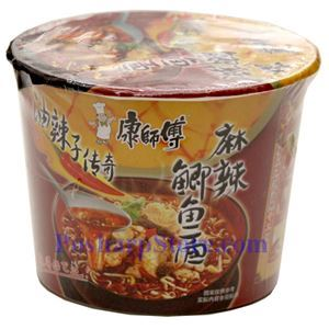 Picture of MasterKong Spicy Artificial Seafood Flavor Instant Noodle