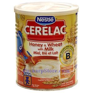 Picture of Nestle Cerelac Honey & Wheat with Milk 14oz