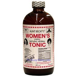 Picture of Aunt Becky's Women's 100% Natural Herbal Tonic 16 oz