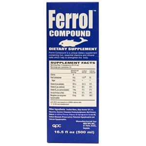 Picture of Ferrol Compound Dietary Supplement 16.5 fl oz