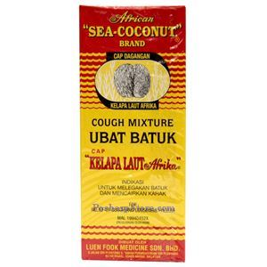 Picture of African Sea-Coconut Brand Cough Mixture 6.2 oz