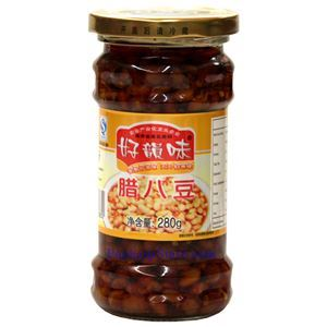 Picture of Haoyunwei Hunan Style Pickled Soybeans in Chili Sauce 9.8 Oz