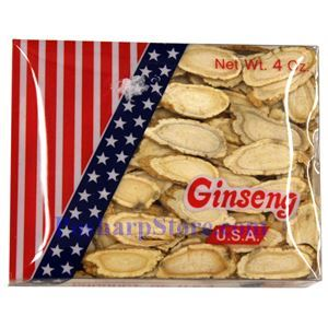 Picture of President Brand American Wisconsin Ginseng Roots Slice (Large) 4 Oz