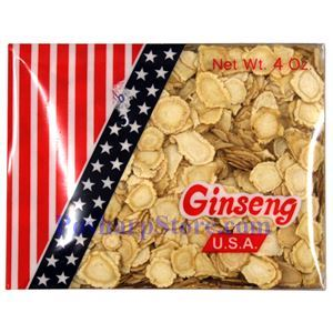 Picture of President Brand American Wisconsin Ginseng Roots Slice (Small) 4 Oz