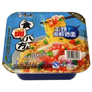 图片 康师傅牌干烧海鲜炒面 (方碗装)