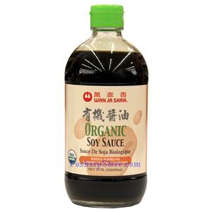 Picture of Wan Ja Shan Organic Soy Sauce 15 Fl Oz