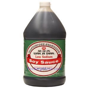 Picture of Wan Ja Shan Less Sodium Soy Sauce 1 Gallon