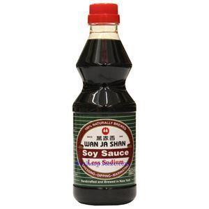 Picture of Wan Ja Shan Less Sodium Soy Sauce 16.7 Floz