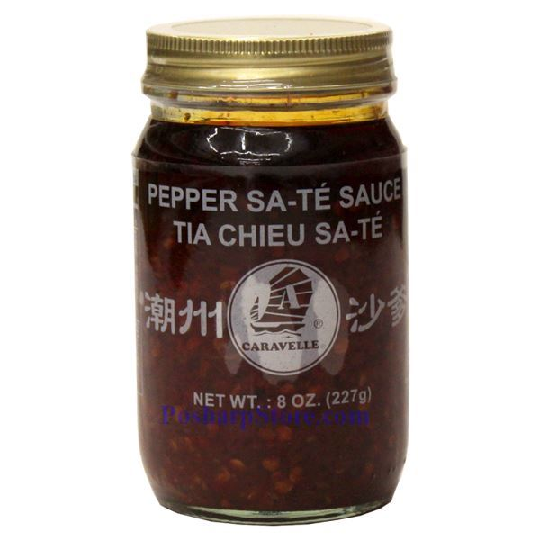 Caravelle Pepper Sate Sauce Tia Chieu Sate 8 Oz