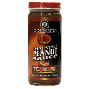 Picture of Kikkoman Thai Style Peanut Sauce 9 Oz