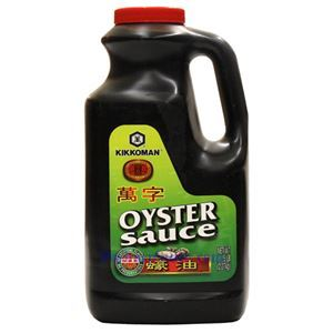 Picture of Kikkoman Oyster Sauce Without Artificial Flavor  5 Lb