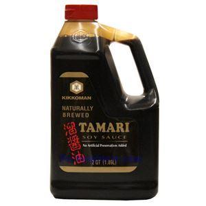 Picture of Kikkoman Tamari Soy Sauce 1.89 Liters