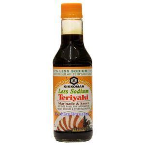Picture of Kikkoman Less Sodium Teriyaki Marinade & Sauce 10 Fl Oz