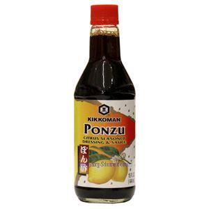 Picture of Kikkoman Ponzu  Citrus Seasoned & Dressing Soy Sauce 15 Fl Oz