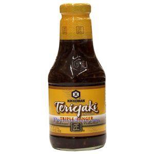 Picture of Kikkoman Teriyaki Sauce With Triple Gingers 18.3 Oz