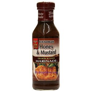 Picture of Kikkoman Honey & Mustard Quick & Easy Marinade  14 Oz