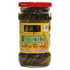 Picture of Liubiju Salted  Green Chili Peppers 10 Oz