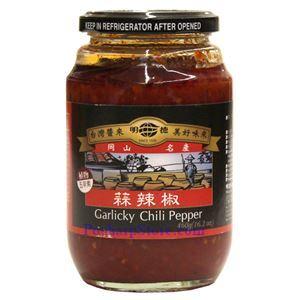 Picture of Mingteh Garlic Chili Sauce 16 Oz