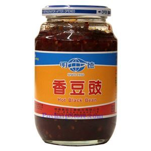 图片 明德牌香豆豉 460克