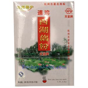 Picture of Tiantang Instant Lotus Powder 9.8 Oz, 8 bags